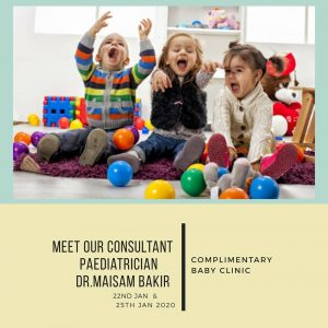 Complimentary baby clinic